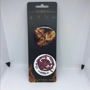 Hunger Game Buttons